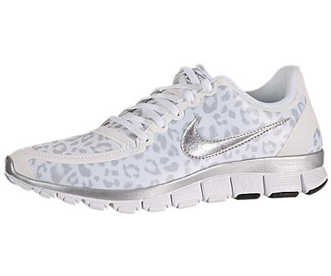 Nike Gray Free 5 V4 Red Womens 0 White IWDH9E2Y